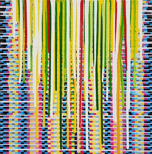 Giuseppe FORTUNATO - Peinture - colate 130215-7-40x40cm