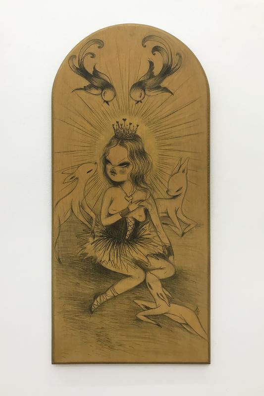 MISS VAN - Painting - Virgen 4
