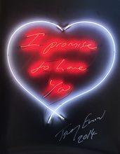 Tracey EMIN - Print-Multiple - I promise to love you