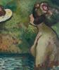 Georges MANZANA-PISSARRO - Gemälde - Baigneuses en Bord de Rivière