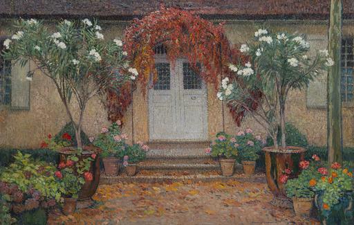 Henri MARTIN - Gemälde - Automne, entrée principale de Marquayrol