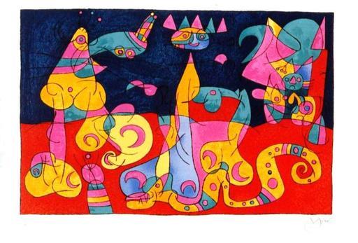 Joan MIRO - Print-Multiple - *Ubu Roi M.471