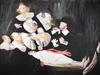 Gaël DAVRINCHE - Gemälde - La leçon d'anatomie