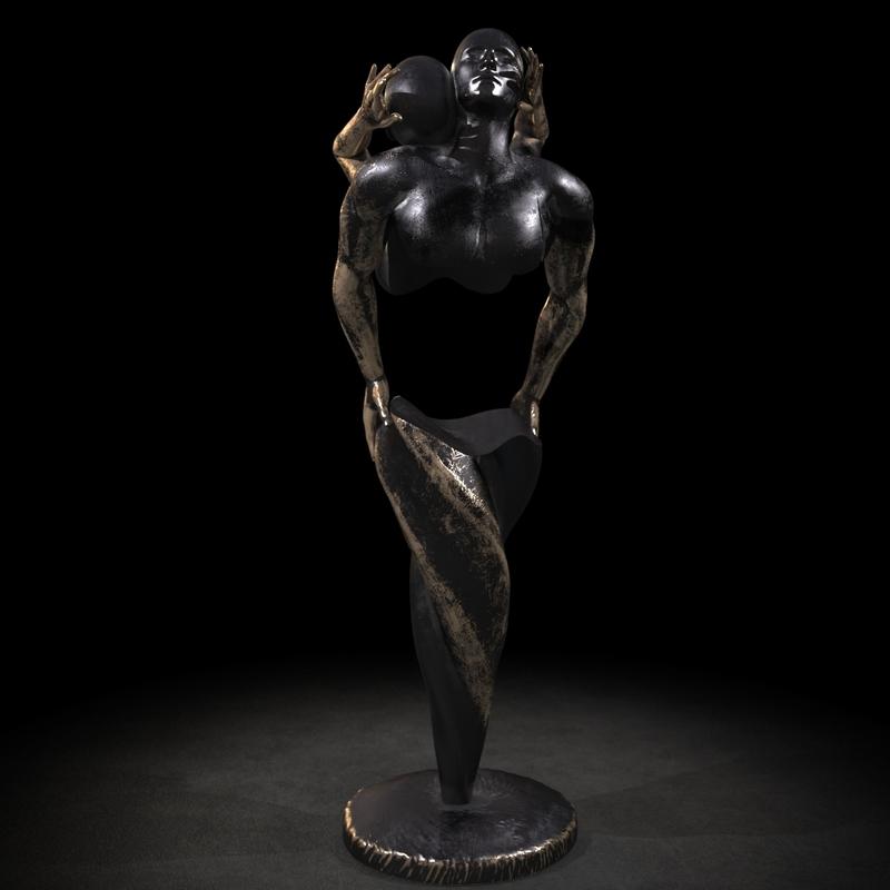 Franck KUMAN - Sculpture-Volume - Harmony