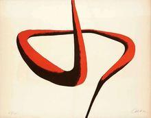 Alexander CALDER (1898-1976) - COMPOSITION