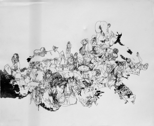 Matt GREENE - Dibujo Acuarela - Untitled