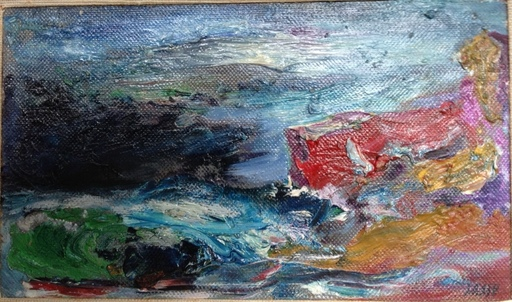 Aligi SASSU - Peinture - Burrasca
