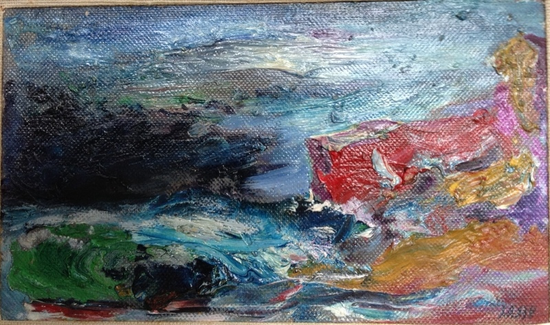 Aligi SASSU - Pintura - Burrasca