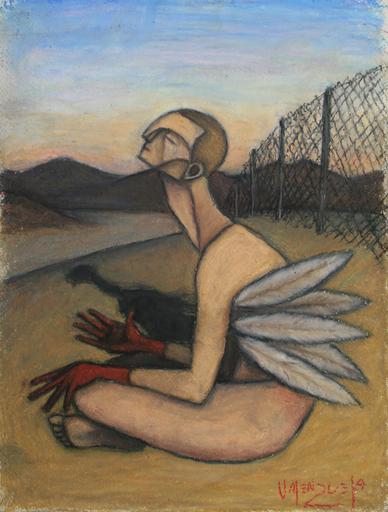 Scott VALENZUELA - Dessin-Aquarelle - Icarus Reflects
