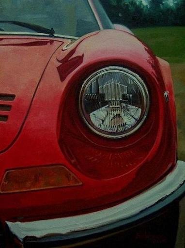 Alex BALAGUER - Pintura - Ferrari 246 GT Dino · 1969