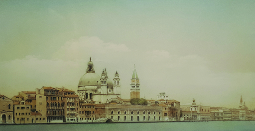 Francesc CONGOST TOR - Dibujo Acuarela - Venecia