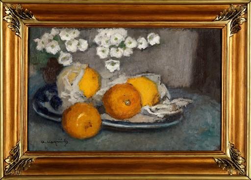Alfons KARPINSKI - Gemälde - Still Life with Lemons
