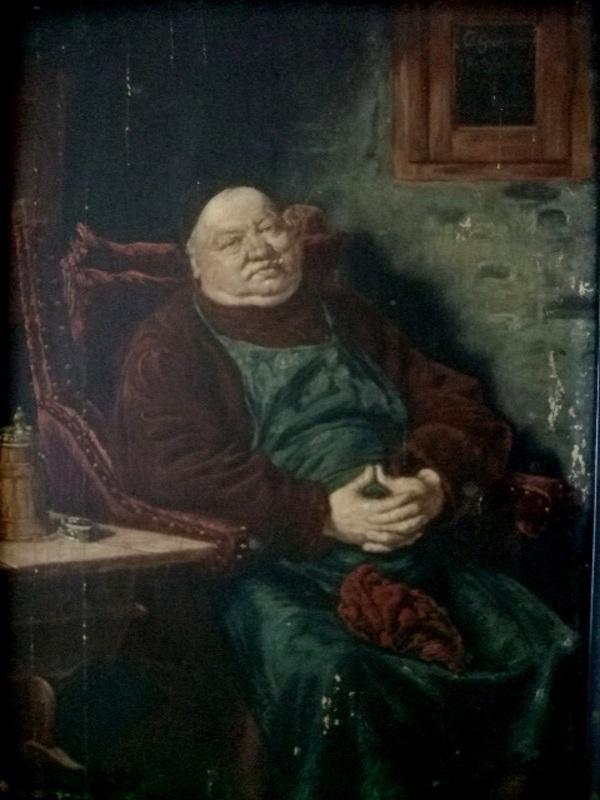 Eduard VON GRÜTZNER - Painting - The Keeper of the Cellar