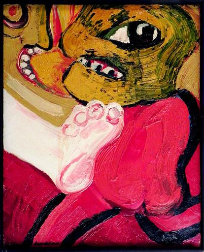 Bengt LINDSTRÖM - Painting - CONFLICT CONJUGAL