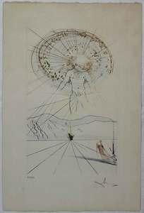 Salvador DALI - Print-Multiple - Senza titolo dalla cartella 'Il Cantico dei Cantici'