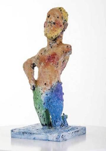 Markus LÜPERTZ - Escultura - Neptun
