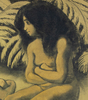 Georges MANZANA-PISSARRO - 水彩作品 - Deux Baigneurs
