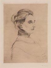 Edvard MUNCH (1863-1944) - Fru Marie Linde