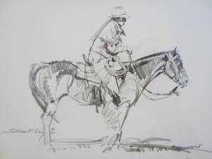 Robert SHUFELT - Dibujo Acuarela