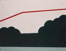 Rolando CANFORA - Pintura - Paesaggio, 1966