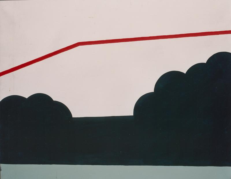 Rolando CANFORA - Painting - Paesaggio, 1966