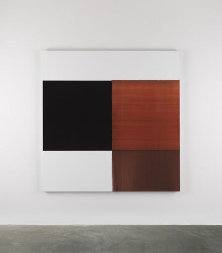 Callum INNES - Peinture - Exposed Painting Scarlet Lake