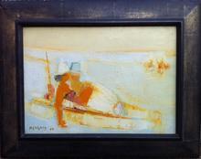 Frédéric MENGUY - Painting - À la plage