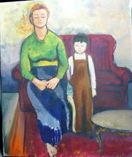 Jacques SEGAL - Pintura - VICTORIA et  FABIEN