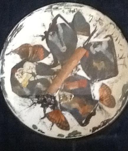 Salvador DALI - Sculpture-Volume - L'Assiette au Cigar