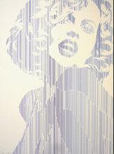Werner BERGES - Estampe-Multiple - Marilyn Monroe II