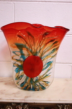 Sergio COSTANTINI - Sculpture-Volume - Amazing Murano Glass Vase with a Splash like design