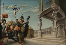 Mariano ANDREU ESTRANY - Gemälde - Musicos en un anfiteatro