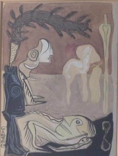 Gérard DROUILLET - Drawing-Watercolor