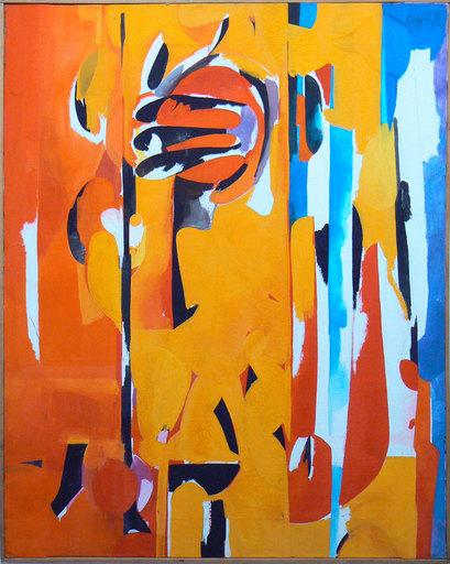 Piero RUGGERI - Painting - Paesaggio N°1