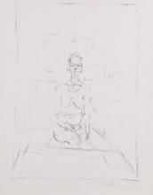 阿尔贝托•贾科梅蒂 - 版画 - Nu Assis (LUST 53)