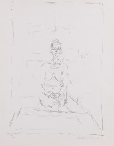 Alberto GIACOMETTI - Print-Multiple - Nu Assis (LUST 53)