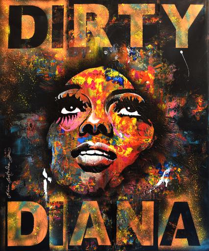 Rémi BERTOCHE - Painting - Dirty Diana
