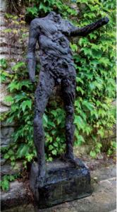 Serge MANSAU - Sculpture-Volume - Aborigène 2