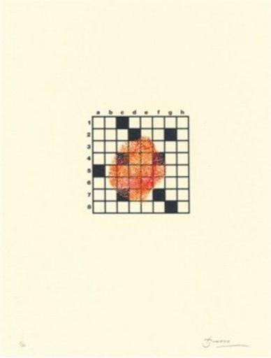 Joan BROSSA - Grabado - Poema visual 14