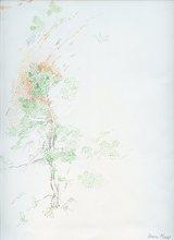 Dora MAAR - Drawing-Watercolor - AQUARELLE SIGNÉE À L'ENCRE SIGNED WATERCOLOR