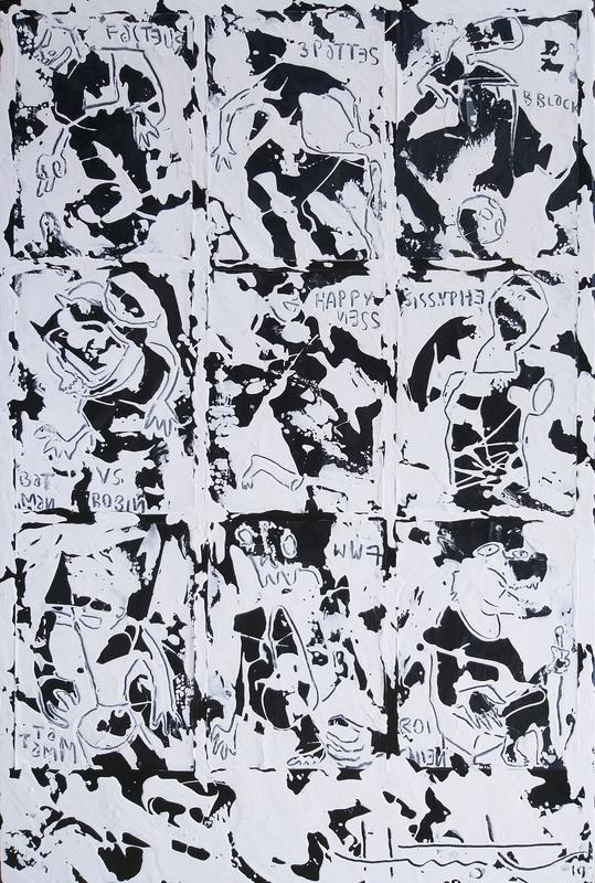 Jean-Marc HUNT - Pintura - Happyness
