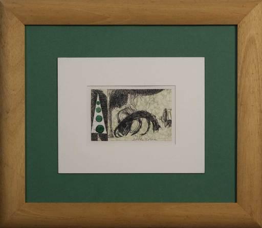 Enrico DELLA TORRE - Gemälde - Albero e animale
