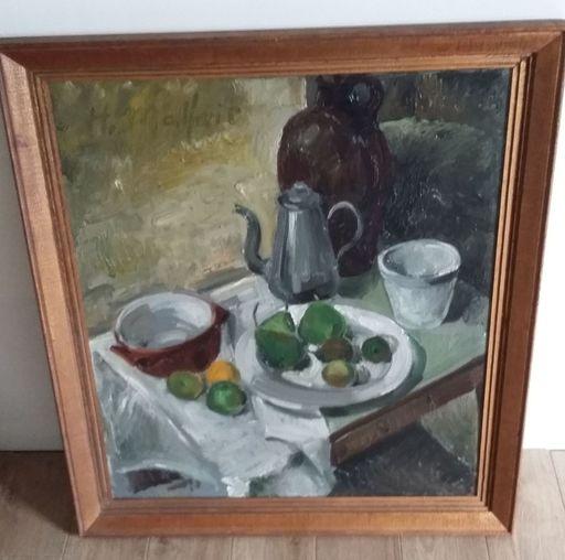Hubert MALFAIT - Pintura - stilleven