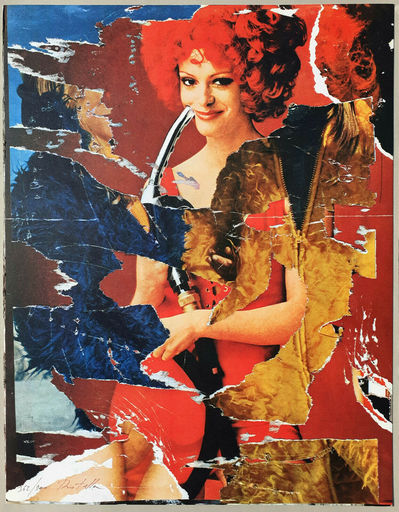 Mimmo ROTELLA - Estampe-Multiple - La benzinara