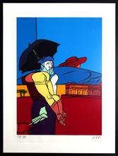 Valerio ADAMI - Print-Multiple - Le parapluie