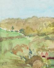 Camille PISSARRO (1830-1903) - Paysage du midi