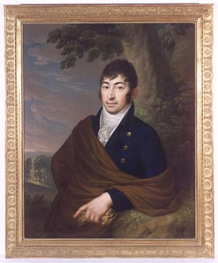 """Johann NIEDERMANN - Gemälde - """"Baron Emanuel von Bartenstein"""", Oil on Canvas, 1804"""