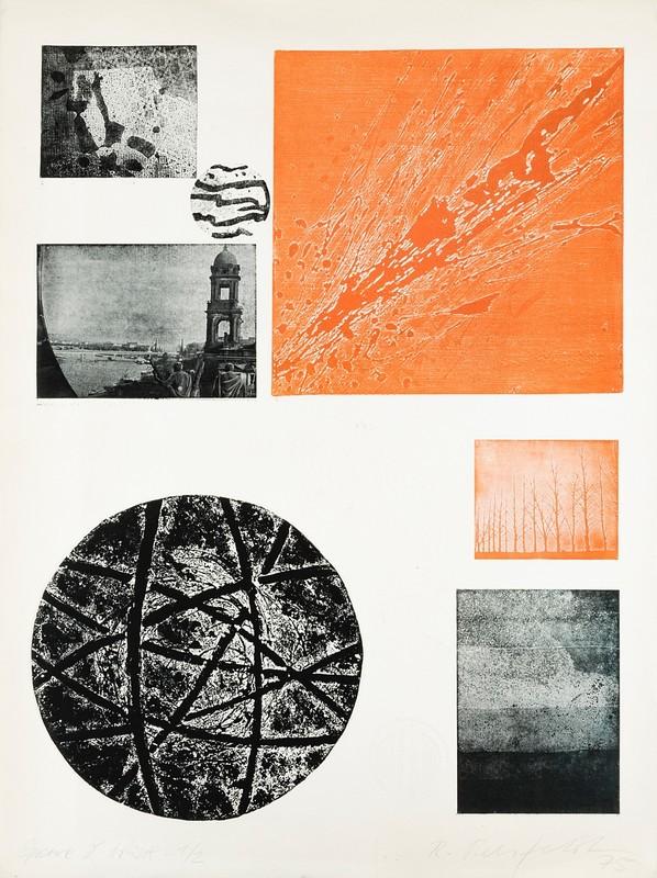 Robert REHFELDT - Grabado - Poeme d artiste