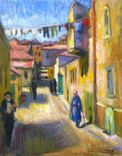 Zvi ADLER - Pintura - *Jewish Quarter