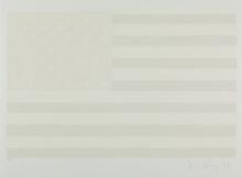 Robert LONGO - Estampe-Multiple - White Flag